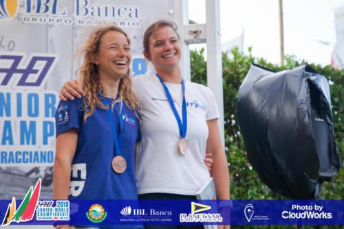 Premiazione Campionato Mondiale di Vela Classe 470 11