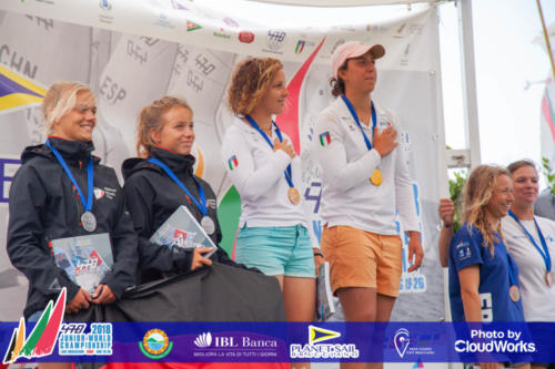 Premiazione Campionato Mondiale di Vela Classe 470 12