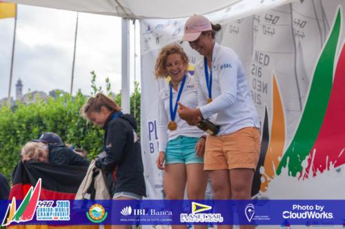 Premiazione Campionato Mondiale di Vela Classe 470 17