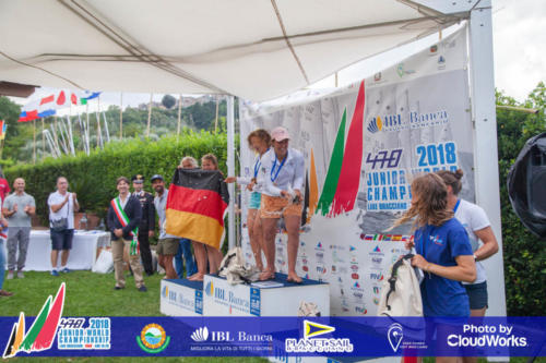 Premiazione Campionato Mondiale di Vela Classe 470 18