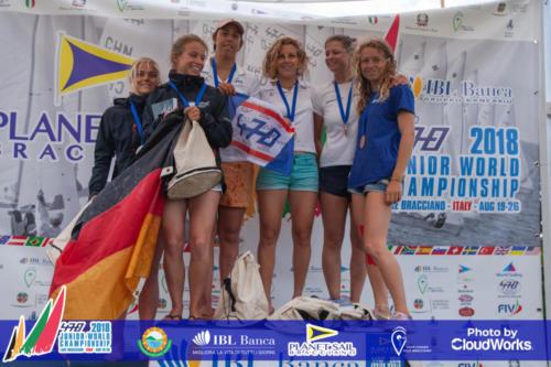 Premiazione Campionato Mondiale di Vela Classe 470 19