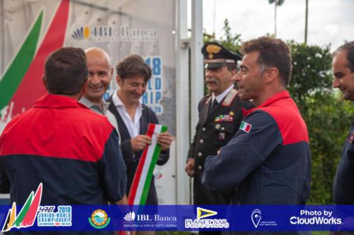 Premiazione Campionato Mondiale di Vela Classe 470 2