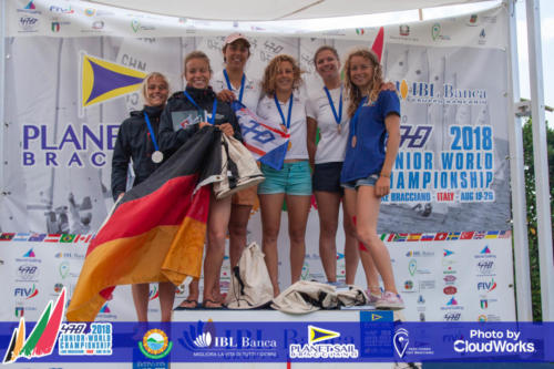 Premiazione Campionato Mondiale di Vela Classe 470 20