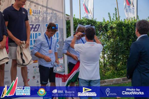 Premiazione Campionato Mondiale di Vela Classe 470 25