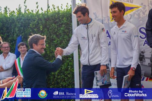Premiazione Campionato Mondiale di Vela Classe 470 27