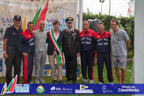 Premiazione Campionato Mondiale di Vela Classe 470 3
