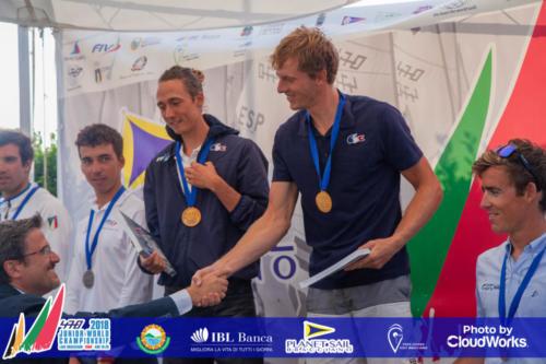 Premiazione Campionato Mondiale di Vela Classe 470 31
