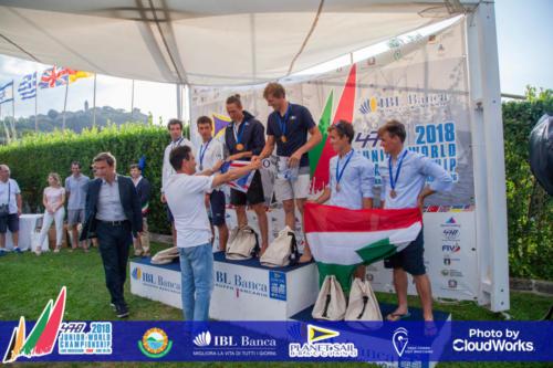 Premiazione Campionato Mondiale di Vela Classe 470 32