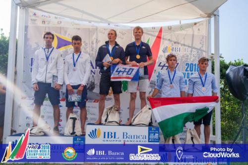 Premiazione Campionato Mondiale di Vela Classe 470 33