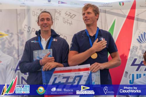 Premiazione Campionato Mondiale di Vela Classe 470 35