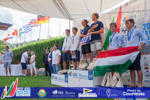 Premiazione Campionato Mondiale di Vela Classe 470 36
