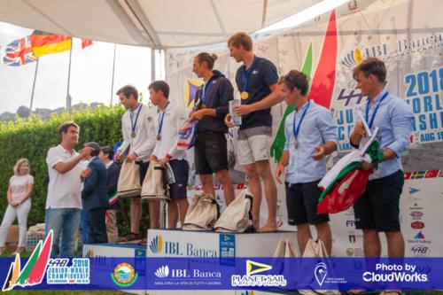 Premiazione Campionato Mondiale di Vela Classe 470 37