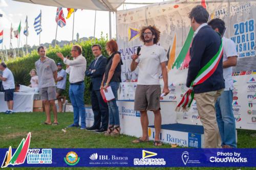 Premiazione Campionato Mondiale di Vela Classe 470 39