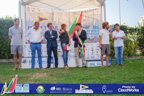 Premiazione Campionato Mondiale di Vela Classe 470 41