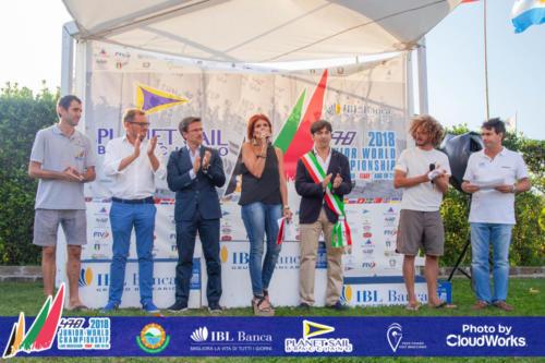 Premiazione Campionato Mondiale di Vela Classe 470 42