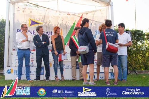Premiazione Campionato Mondiale di Vela Classe 470 43