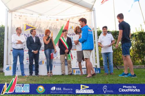 Premiazione Campionato Mondiale di Vela Classe 470 44