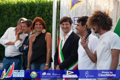 Premiazione Campionato Mondiale di Vela Classe 470 46