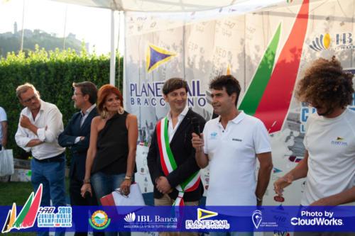 Premiazione Campionato Mondiale di Vela Classe 470 47