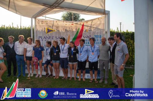 Premiazione Campionato Mondiale di Vela Classe 470 48