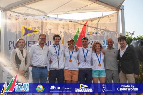 Premiazione Campionato Mondiale di Vela Classe 470 49