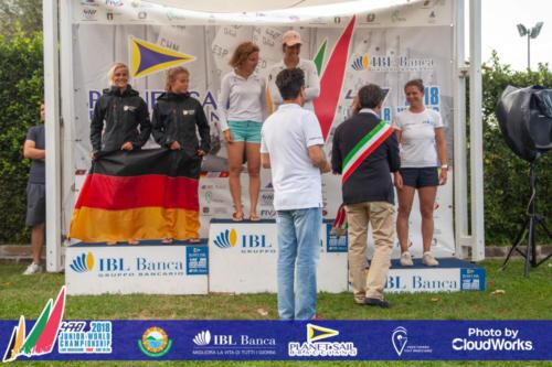 Premiazione Campionato Mondiale di Vela Classe 470 8